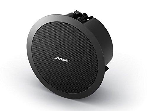 Bose FreeSpace flush-mount loudspeaker 天井埋め込み型スピーカー ローインピーダンス専用モデル (1本) ホワイト DS40FW-80HM B007F5KA12 ブラック  ブラック