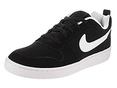Amazon.com | Nike Court Borough Low Black/White | Shoes