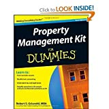 img - for Property Management Kit For Dummies. 2nd(second edition). book / textbook / text book