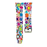 For Samsung Gear Fit 2 Pro Smart Watch Band - Esharing Fashion Silicone Colorful Printed Fitness Strap Replacement Wristband Bracelet For Samsung Gear Fit 2 Pro (Style H)