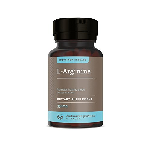 Endurance Products L-Arginine 350 mg Sustained Release Supplement, 400 Count, (Packaging May Vary) (Oxide Release Nitric)