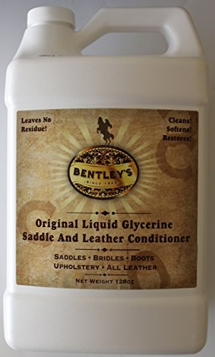 Forever Car Care Products Bentley Liquid Glycerine Saddle & Leather Conditioner Soap - 128 oz (one Gallon) ()