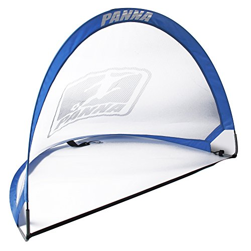Panna Pop-up Soccer Foldable Goals (Pair) - Set of 2 Twistable Portable Goals with Carry Bag. (4 FT x 2.5 FT) 020 by Panna Ole