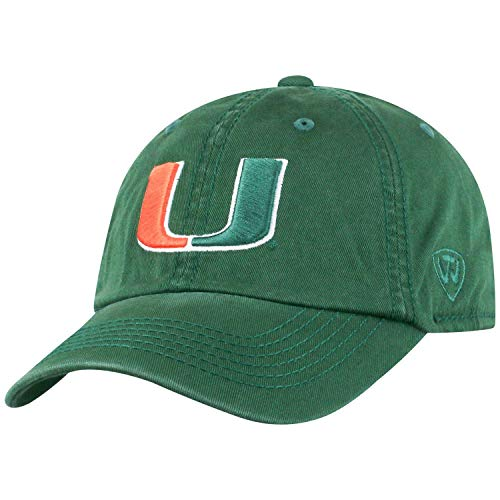 NCAA Crew Adjustable Hat NCAA Team: Miami