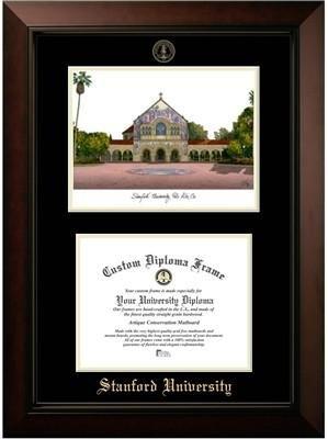 Stanford University Campus Image Diploma