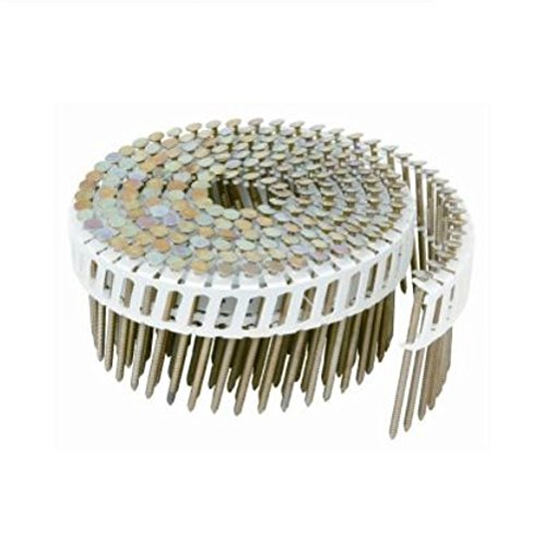 Hitachi 2-1/4 in. x 0.092 15-Degree Ring Hot-Dipped Galvanized Full Round Head Hardi Nail 4,800 per Box