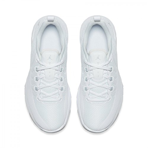 Jordan Trainer Prime White/Pure Platinum (Big Kid) White/Pure Platinum
