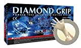 Diamond Grip Latex Gloves Medium Case