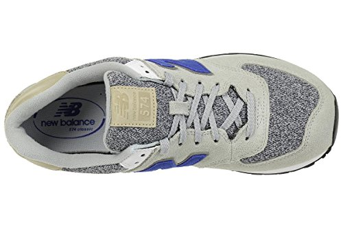 Nuovo Equilibrio Mens Sneakers Ml574, Verde, 41 Eu Argento (argento)