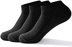 Sweepstakes: Mens Ankle Low Cut Socks - Best Comfy Breathable Casual...