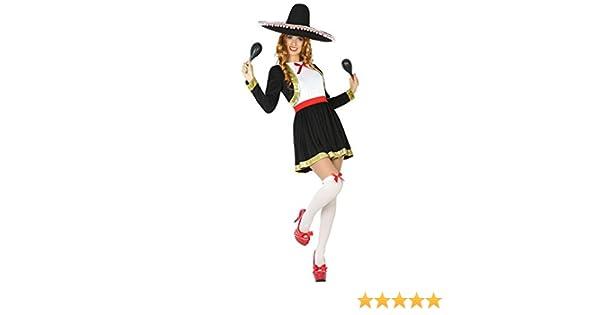 Atosa- Disfraz corto mujer mariachi, M-L (15433): Amazon.es ...