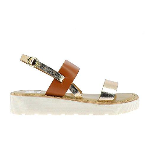 Elizabeth Stuart Women's Higor Open Toe Sandals Multicolour (Multi Noisette 886 Multi Noisette) 2OT4biWK
