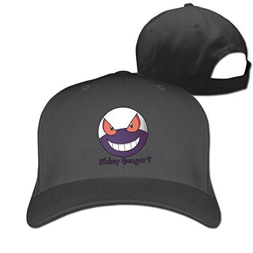 V&Vstaen Pokemon Monster Gangar Black Unisex Baseball Hats