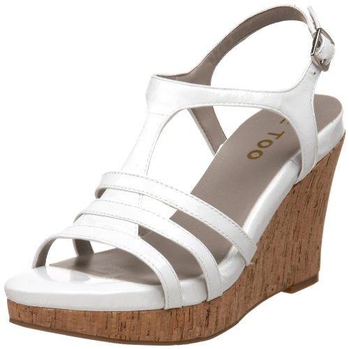 White T Jones Strap Women's Too Sandal Patent Me t6wvYY
