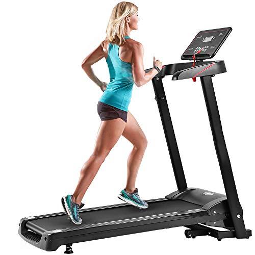 MIERES Treadmill Folding Electric Treadmill Power Motorized Running Machine Treadly Treadmill for Runnin