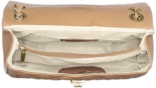 Ctm Donna Made Elegante Vera Pelle 100 Chicca Italy 27x17x9cm Tutto Moda In Trapuntata Borsa Da Fango w7cEFXEq