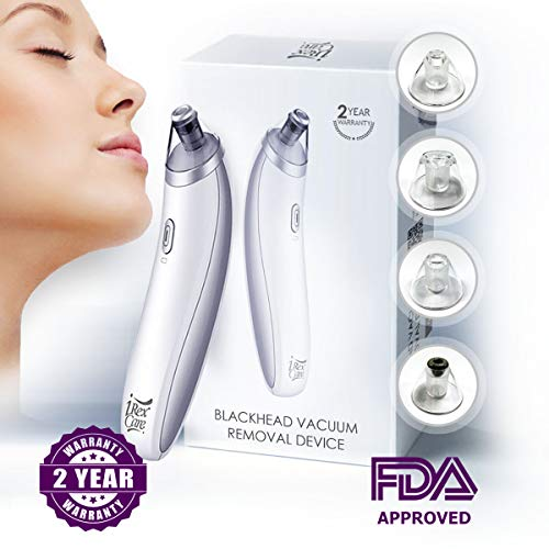 Blackhead Remover Vacuum Pimple Extractor – Best Microdermabrasion Removal Tool Machine – Professional Electric Comedone Popper Remove Blackheads – Fast Remove Dark Spot Beauty Device for Woman