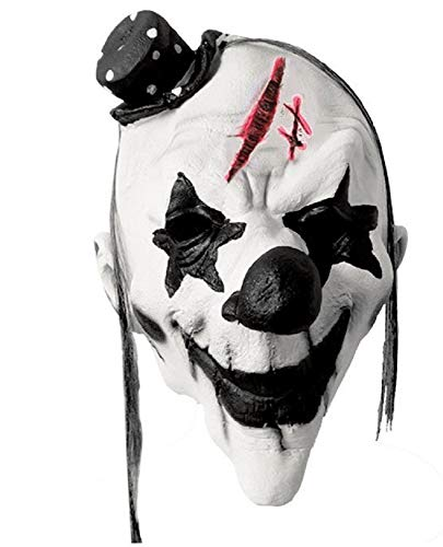 Halloween Masquerade Scary/Horrific Head Masks - Realistic Crazy