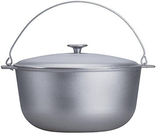Free2Buy Cast Aluminum Outdoor Cooking Campfire / Stove Pot 2/5/10 Quart Dutch Oven with Lid