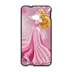 HTC One M7 Black phone case Disney Cartoon Comic Series Sleeping Beauty QBC3090074