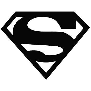 Superman Logo Movie Decal Vinyl Car Wall Laptop Cellphone Sticker
