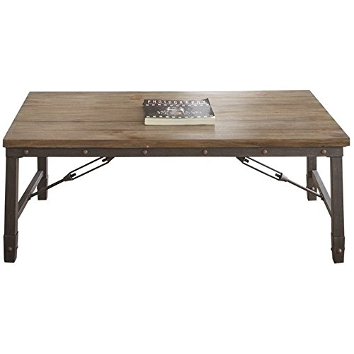 Steve Silver Jersey Coffee Table in Antique Tobacco