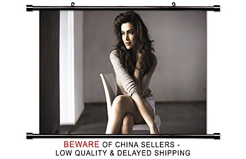 Deepika Padukone Actress Wall Scroll Poster