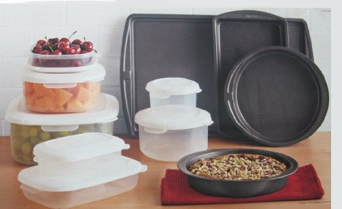 Chefmate 18 Piece Baking and Food Storage Set by Chefmate