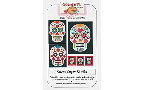 Cranberry Pie Designs CP029 Sweet Sugar Skulls Ptrn