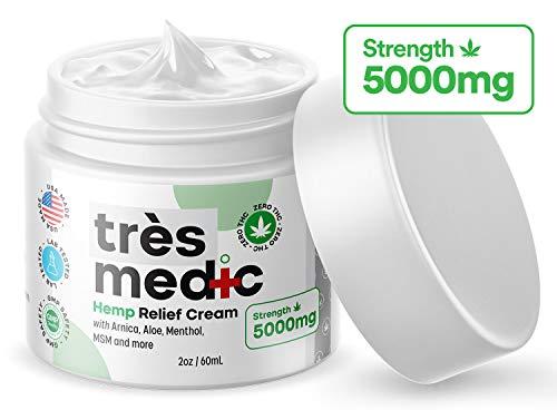 TresMedic Relief Cream 5000mg Extract