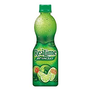 ReaLime 100% Lime Juice, 15 fl oz bottles (Pack of 12)