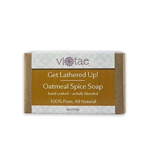 Vi-Tae Organic Oatmeal Spice Soap, 4 oz.