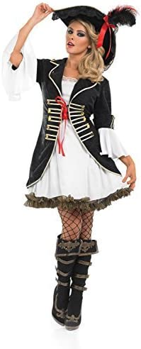 Fancy Me Mujer Sexy BUCANERO O Pirata Villano Despedida De Soltera ...