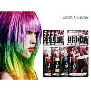 1 craie a cheveux coloration temporaire yes love beaute coiffure - Coloration Temporaire
