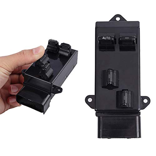 Power Window Master Control Switch Driver Side fits 1996-2000 CHRYSLER VOYAGER GRAND VOYAGER TOWN & COUNTRY DODGE CARAVAN GRAND CARAVAN PLYMOUTH GRAND VOYAGER 4685433 Replacement ()