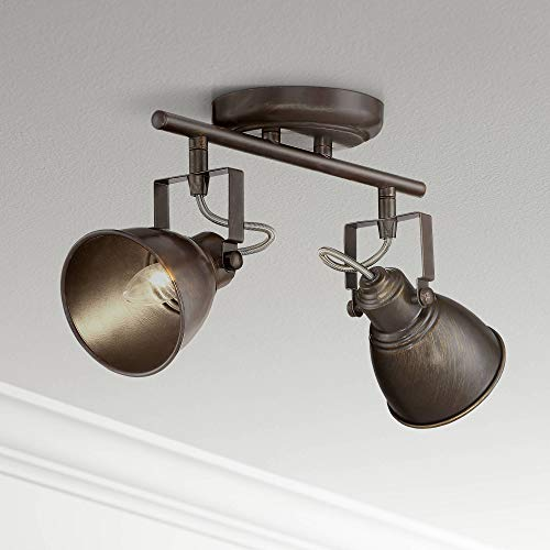 Pro Track Abby 2-Light Bronze Track Fixture - Pro Track