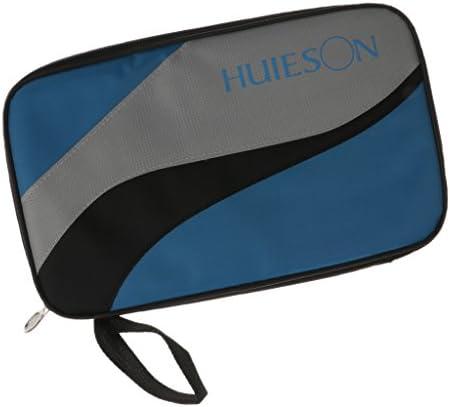 Dovewill 휴대용 직사각형 탁구 라켓 가방 라켓 수납 보호 케이스 탁구대 커버 외륜 박쥐 가방 / Dovewill Portable Rectangular Table Tennis Racquet Case Racquet Storage Protective Case Ping Pong Cover Paddlebat Bag