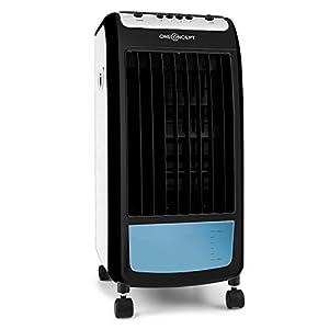 oneConcept CarribeanBlue Mobile Wasser- Luftkühler-Klimagerät 3in1 Ventilator...