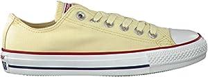 Converse Unisex Chuck Taylor All Star Low Top Natural Sneakers - 9.5 B(M) US Women / 7.5 D(M) US Men