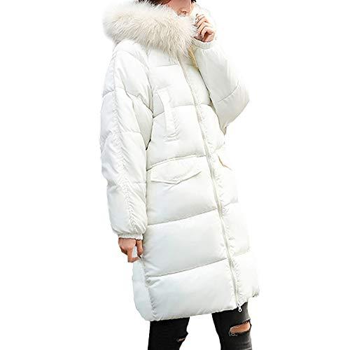 Invierno Piel Abrigo Talla Sylar Gruesa Color Más Suelto Outwear Grande Mujeres Caliente De Sólido Slim Chaqueta Abrigos Cuello Fit SBwaBqEn4