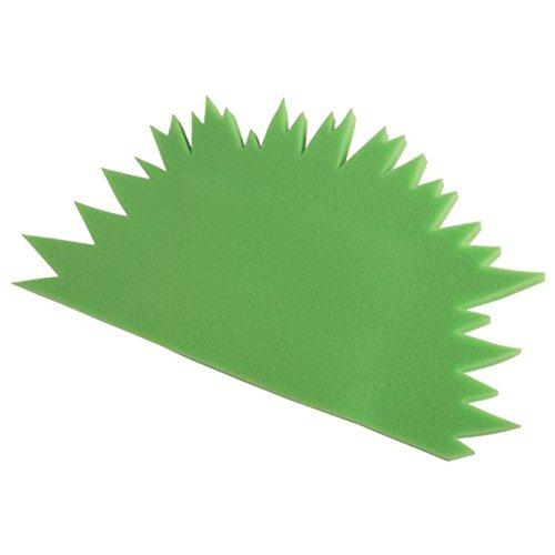 (U.S. Toy Foam Child Size Spike Green Mohawk Hat)
