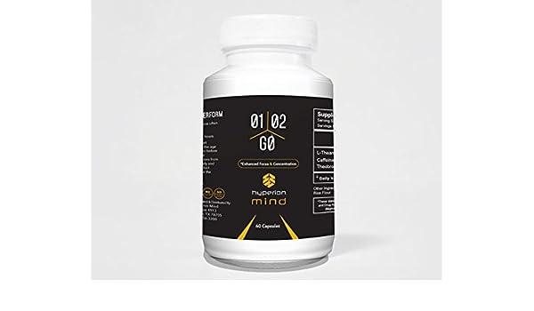 Amazon com: 1-2-Go Nootropic Stack - Caffeine and L-Theanine