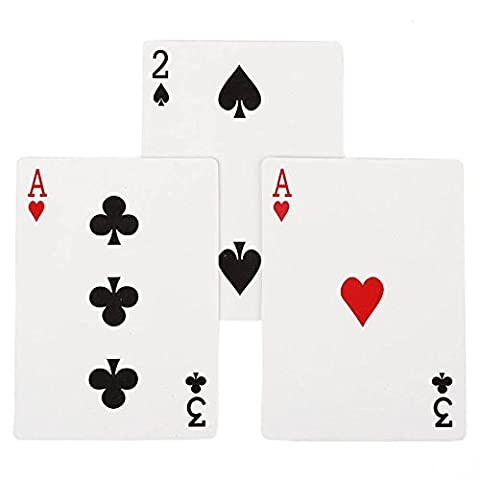 Ultimate 3 Card Monte Gimmick Card Close up Classic Magic Trick EASY MAGIC TRICK (Playing It Cool Dvd 2014)