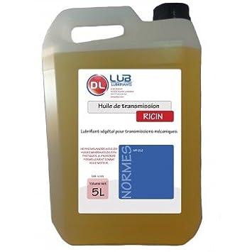huile de ricin lubrifiant