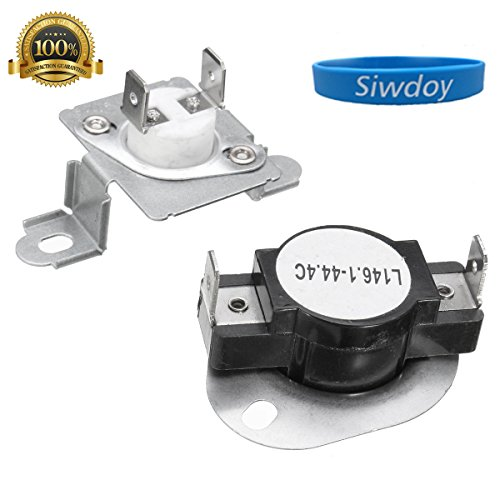 Siwdoy 279973 Dryer Thermal Cut-Off Fuse & Thermostat Kit for Whirlpool Kenmore Maytag - Replaces 279973, 3391913, 8318314, AP3094323