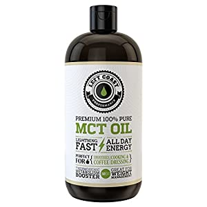Premium MCT Oil from Organic Coconuts. Huge 32 Oz. Easier To Absorb and Digest. Triple Filtered. Independent Quality Testing for every batch. Keto & Paleo Friendly. Packaged in USA.