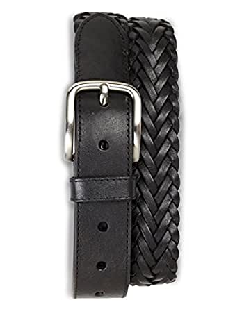 Harbor Bay Big & Tall Braided Leather Belt