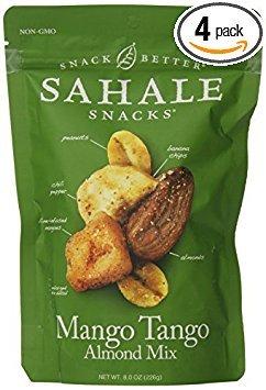 Sahale Snacks Mango Tango Almond Fruit and Nut Mix, 8 Ounce -- 4 per case.
