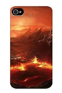 Standinmyside Case Cover For Iphone 4/4s Ultra Slim Fpnvp0shljg Case Cover For Lovers