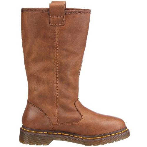 Dr. Martens JUNEY Polished Laredo 13418002  Damen Fashion Stiefel Braun (Tan)